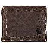 Carhartt 61-2201 - Cartera (piel), diseño con logo, marrón,...
