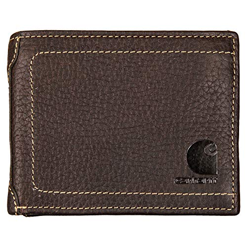 Carhartt Mens' Passcase Wallet, Black, One Size