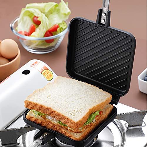 Sandwichera Y Waflera,Sandwichera Eléctrica Para El Hogarsandwichera Antiadherente De Gas, Máquina De...