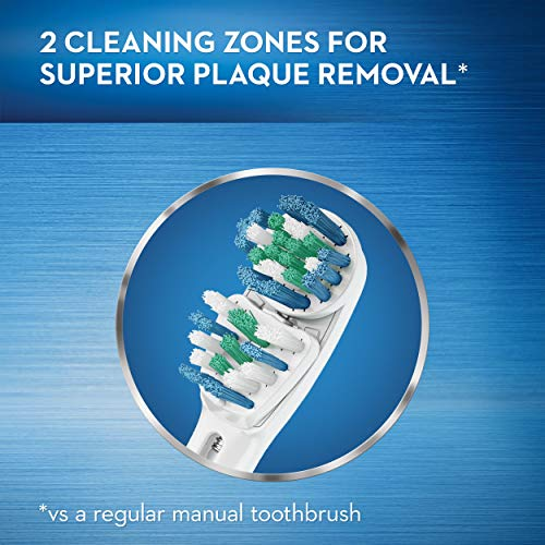 Oral-B Vitality Dual Clean Electric Rechargeable Toothbrush with 2 Brush Heads