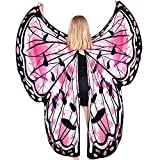 Butterfly Wings Costumes for Women,Butterfly Wings Shawl Halloween Costume Festival Rave Ladies Dress
