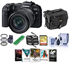 $1299 » Canon EOS RP 26.2MP Full-Frame Mirrorless Digital Camera with RF 24-105mm F4-7.1 is STM Lens - Bundle with Camera Case, 64GB SDXC Card, Camera Case, 67mm Filter Kit, Cleaning Kit, PC Software, More