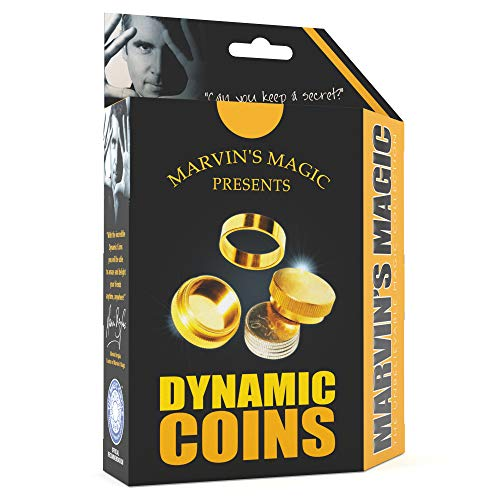 Marvin's Magic - The Dynamic Coins Amazing Trick Set | Amazing Magic Tricks For...