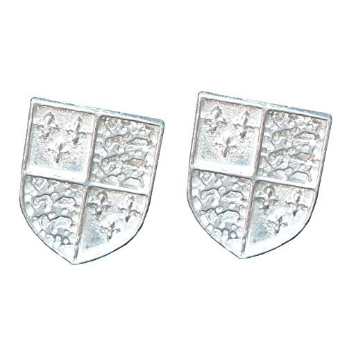 Boutons de Manchette Richard III en Etain Fin - Fabrication Française
