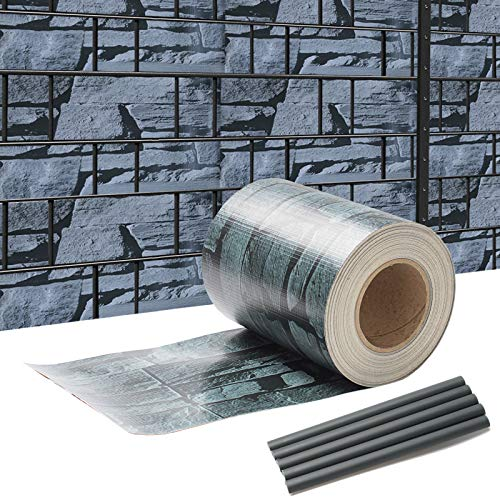 SWANEW Sichtschutzstreifen für Doppelstabmatten, 35 m x 19 cm mit 30 Clips, PVC Sichtschutzfolie für Zaun, Gartenzaun, Doppelstabmattenzaun, Sichtschutz, Beidseitiger Druck
