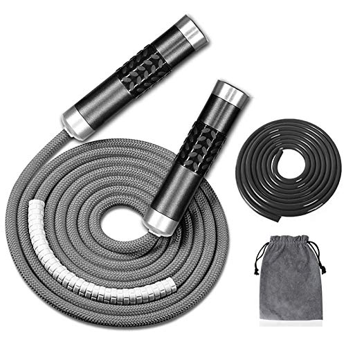 Redify Weighted Jump Rope for Workout...