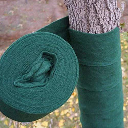 KJSMA - Protection pour Arbre - Protection pour l'hiver - pour Le Maintien au Chaud et l'hydratation - 20 m, 13 cm, 2,5 mm