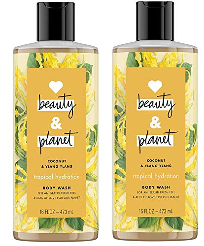 Love beauty and planet Tropical Hydration Shower Gel Coconut Oil & Ylang Ylang