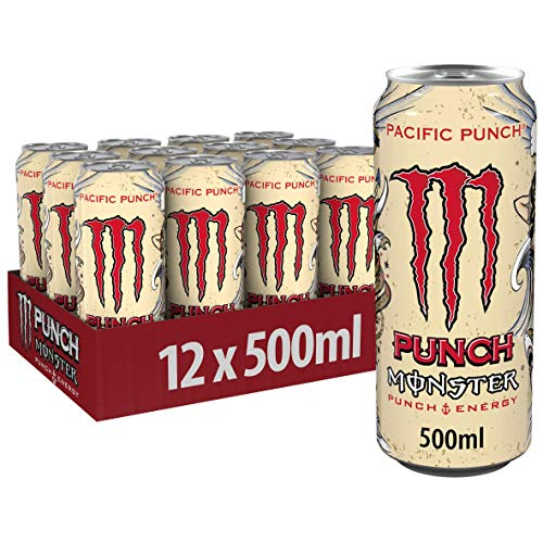 Monster Energy Pacific Punch, 12er Pack (12 x 500 ml)