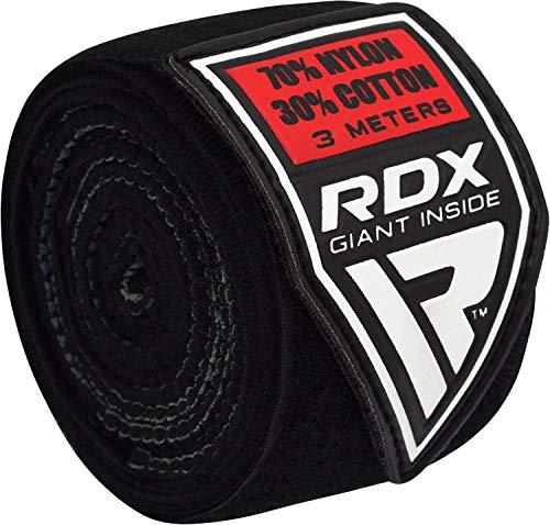 RDX Boxen Gel Boxbandagen Wraps MMA Handschuhe Daumenschlaufe Innenhandschuhe Muay Thai (MEHRWEG)