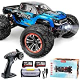 Hosim 9155 46+ KMH High Speed RC Monster Trucks,1:12 Scale Large Size RC Cars for Adults Boys Kids, All Terrain RC OffRoad Car 40+ Min Play Remote Control Car for Boys|2 Batteries|6 Oil Filled Shocks|