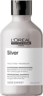 L'Oréal Professionnel Paris | Shampoo professionale per capelli grigi e bianchi Silver Serie Expert, Formula neutralizzant...