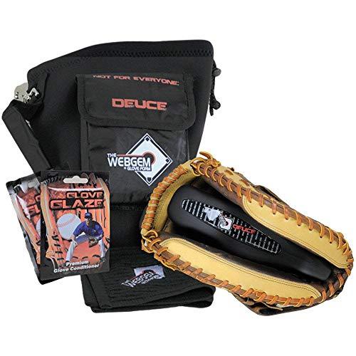 NO Errors WebGem Baseball Glove Break-in Kit - The Deuce Small Pocket Catchers Mitt Forming Tool