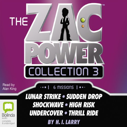 Zac Power Collection #3 audiobook cover art