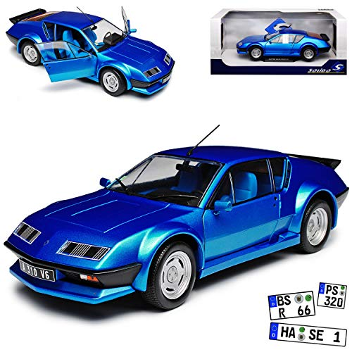 Solido Renault Alpine A310 Pack GT Coupe Blau 1971-1985 1/18 Modell Auto