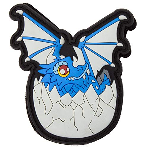 TACOPSGEAR Dragon Baby 3D PVC Patch by HIWEZ - Klett-Abzeichen Erkennungsmarke