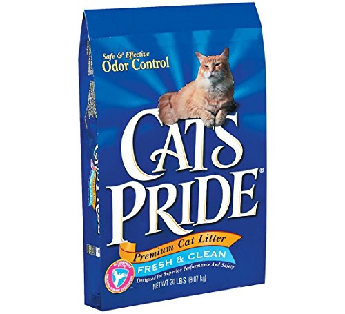 Cat's Pride Premium Clay Cat Litter, 20-Pound Bag