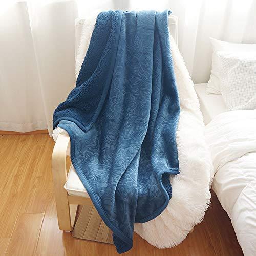LIALIYA Fleece Manta Suave Acogedor de Microfibra Mantas de Franela para sofás/sillas/Cama - Ligero, cálido, Acogedor
