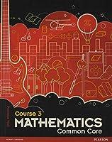 Middle Grade Math Common Core Course 3 Student Edition 0133196690 Book Cover