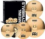 Meinl Cymbals CC-141620+18 Classics Custom Bonus Pack Cymbal Box Set with 18' Crash
