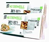 Tagliatelle pasta de proteína de zona Maccarozone Nutriwell Ciao Carb - 2 paquetes (2 x 100 g)