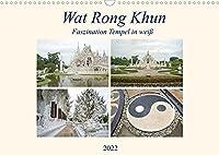 Wat Rong Khun - Faszination Tempel in weiss (Wandkalender 2022 DIN A3 quer): Ausgewaehlte Bilder vom Wat Rong Khun Tempel in Chiang Rai, Thailand (Monatskalender, 14 Seiten )