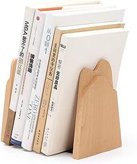 Creative Ins Style Simple Study Room Book File, Puede Manejar Varias Formas y tamaños de Libros con Bases de Metal, Utilizado para el Almacenamiento de CD de Libros.