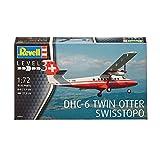 ドイツレベル 1/72 DHC-6 ツインオター Swisstopo プラモデル