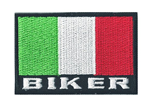Patch Wappen Flagge Biker Italien