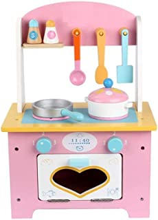 DWLXSH Little Kitchen Playset,Kids Play Kitchen,Multifunctional Play House Kitchen Toys for Kids,Children's Puzzle Dining ...