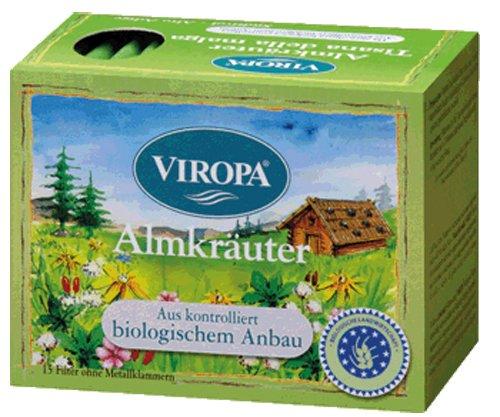Almkräuter Bio Tee 3er Pack à 15 Teebeuteln VIROPA