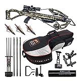 Killer Instinct Hero 380 FPS Crossbow Kit with Slayer Case and NAP Broadheads (3 Items)