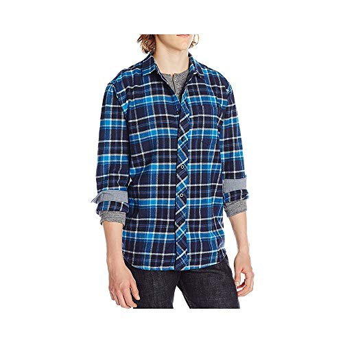2016 Billabong Henderson Long Sleeve Shirt INDIGO Z1SH07 Sizes- - Small