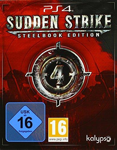 Sudden Strike 4  - Steelbook  Edition - [PlayStation 4]