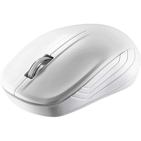 BUFFALO 無線IRLEDマウス 3ボタン ホワイト BSMRW21WH