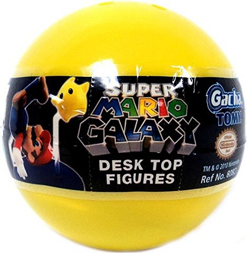 super mario brothers blinds Tomy Gashopan Super Mario Galaxy Mini Desk Top Action Figure PVC Blind Pack