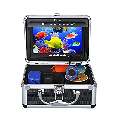 Eyoyo Portable 7 inch LCD Monitor Fish Finder Waterproof Underwater HD 1000TVL Fishing Camera
