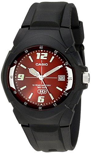 Casio MW600F-4AV - Orologio da polso da uomo, Resina, colore: Nero