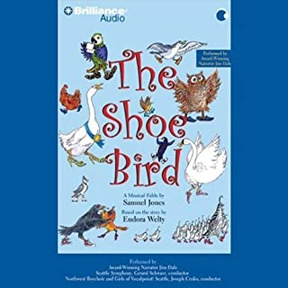 The Shoe Bird audiobook cover art