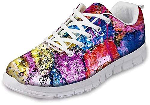 MODEGA Zapatos para Correr Zapatos Online Baratos Zapatos de Chicas Calzado Deportivo Hombre Zapatos Azules Hombre Zapatillas para Running Hombre Talla 5.5 UK 38 EU