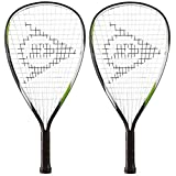 2 x Dunlop Biotec Titanium Racketball Rackets and Protective Covers