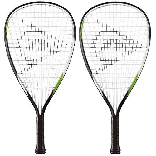 2 x Dunlop Biotec titanio Racketball Raquetas