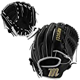 Marucci MFGFP1275H-BK/GY-LH FP225 Series Softball Fielding Gloves, Black/Gray, 12.75'