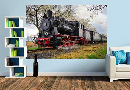 Premium Foto-Tapete Die Osterbahn (versch. Größen) (Size M | 279 x 186 cm) Design-Tapete, Wand-Tapete, Wand-Dekoration, Photo-Tapete, Markenqualität von ERFURT