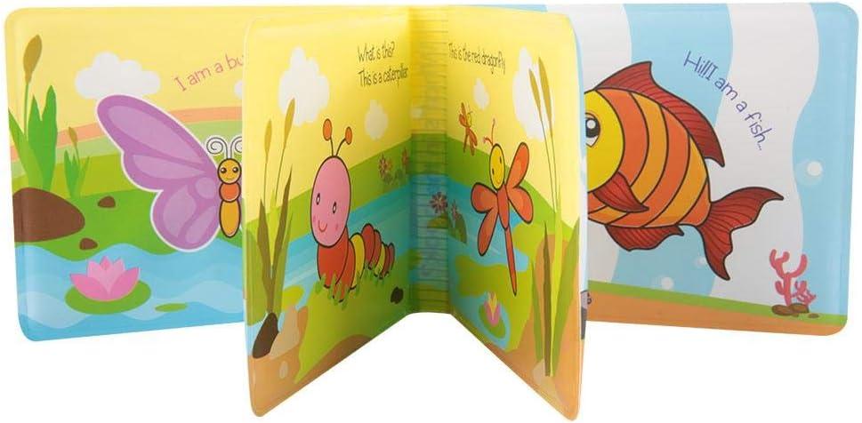 #1 rima Infanzia Giocattolo per la Doccia Neonato di della Prima Libro da Bagno Fattoria di Mucche Trasporto di Anatre Giocattoli per lora del Bagno Jadpes Bagnetto in