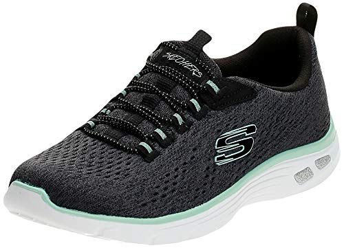 Skechers Damen Empire D'LUX-Lively Wind Turnschuh, Bkg, 39.5 EU