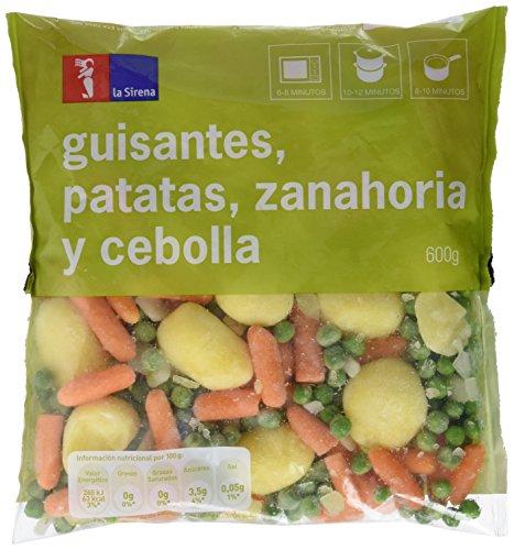 piselli, patate, carota e cipolla - 600 g