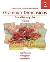 Grammar Dimensions, 4/e Book 2 : Text (432 pp)