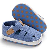 HsdsBebe Infant Baby Boys Girls Summer Beach Sandals Breathable Athletic Anti-slip Soft Sole Newborn First Walker Crib Shoes