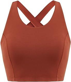Sports Bra Halter Bralette Medium and Low Intensity Running Aerie Bralette Women's Vest Sports Underwear Yoga Bra Without ...